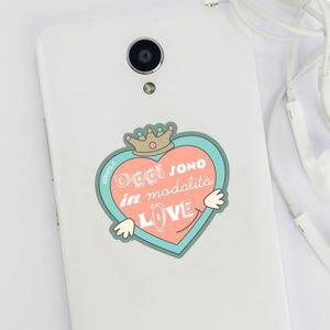 Adesivo LOVE per cellulare