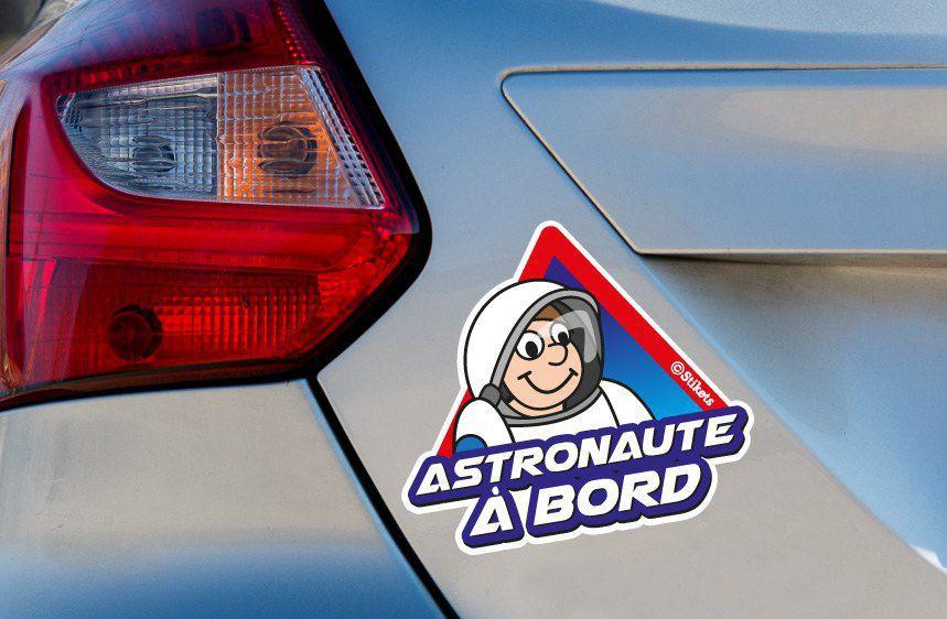 Astronaute à bord A