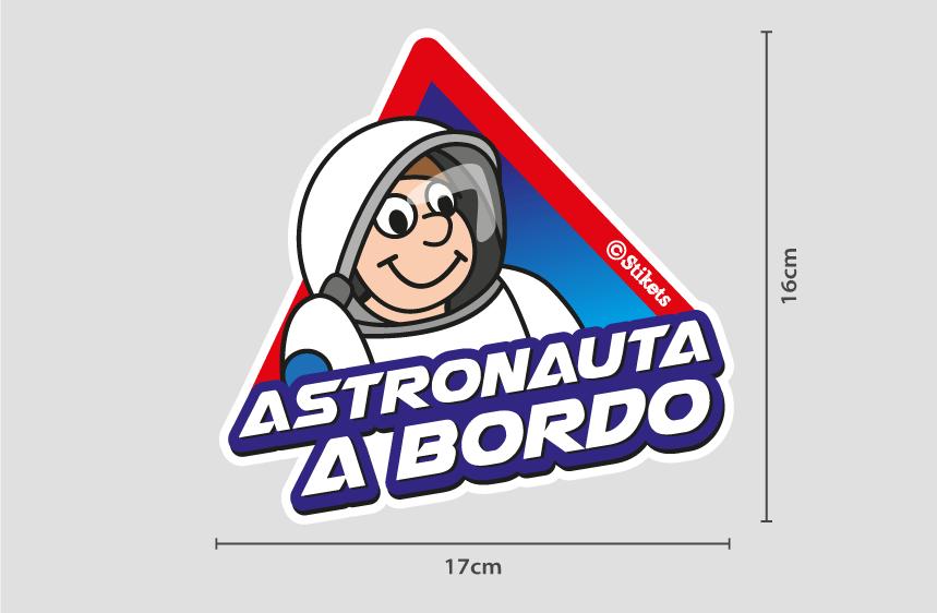 Astronauta a bordo B