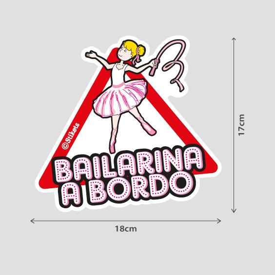 Bailarina a bordo b