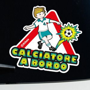 Calciatore a bordo