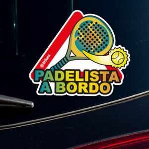 Padel Player on Board