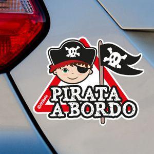 Bambino Pirata a bordo