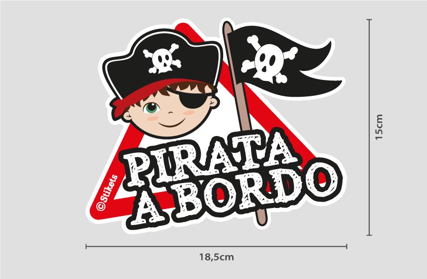 Bambino Pirata a bordo b