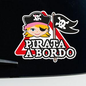 Bambina Pirata a bordo