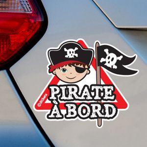 Pirate Garçon à bord