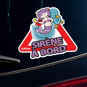 Sirène à bord