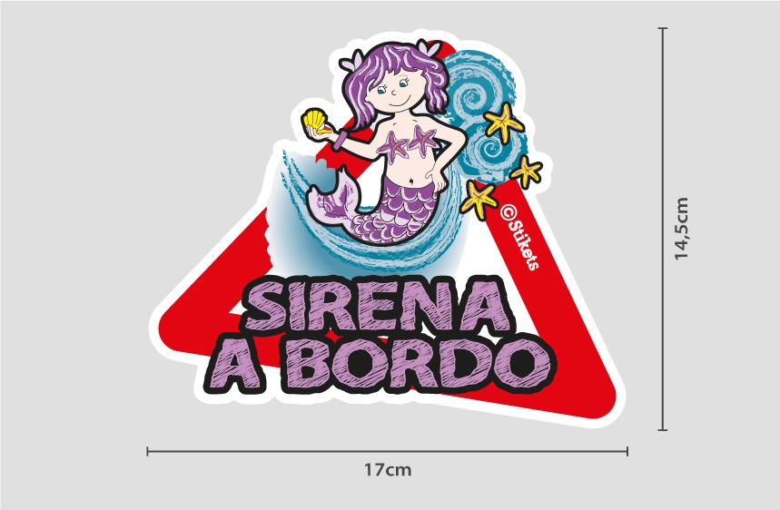 Sirena a bordo B