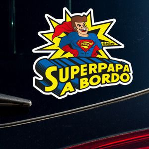 Super Papa on board