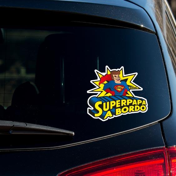 SuperPapa a bordo