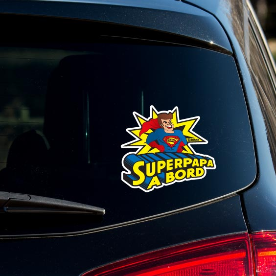 SuperPapa a bord