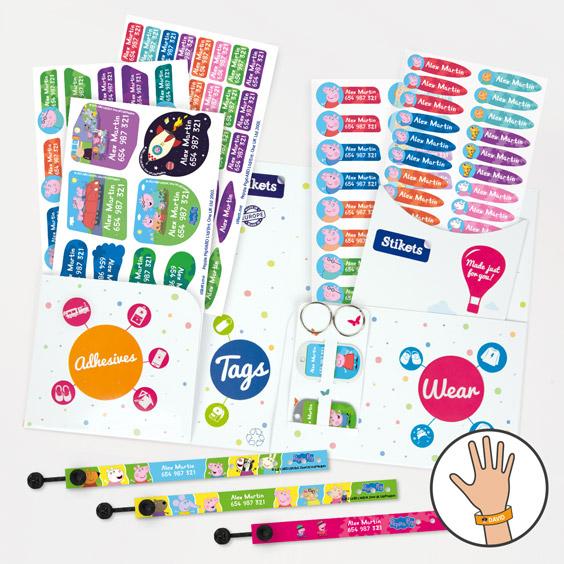 Peppa Pig ID Bracelet Pack