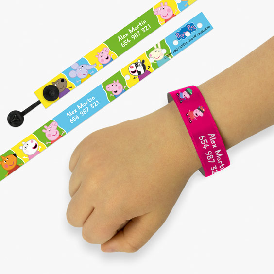Peppa Pig ID Bracelets