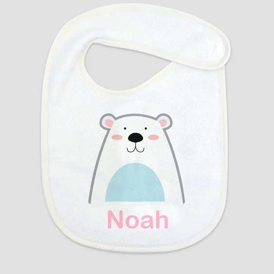 Personalized bibs with name