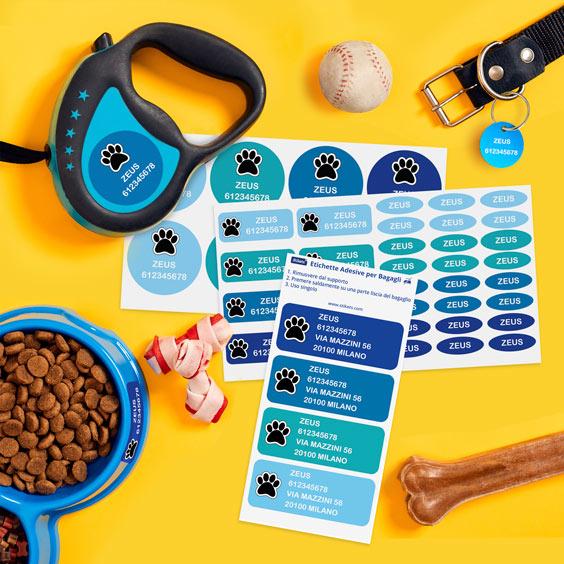 Pack per animali domestici personalizzato