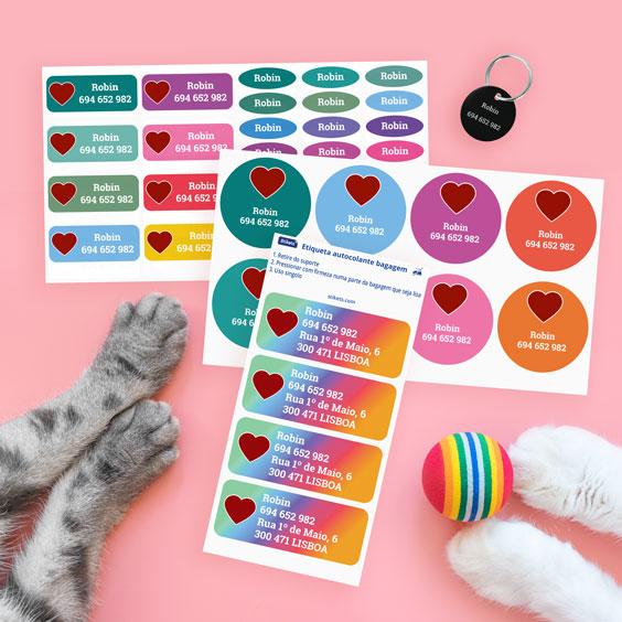 Pack para animais de estimação personalizado