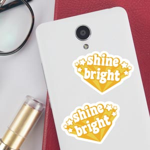 Sticker Shine bright