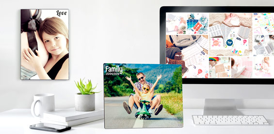 Mounted Personalized Photos