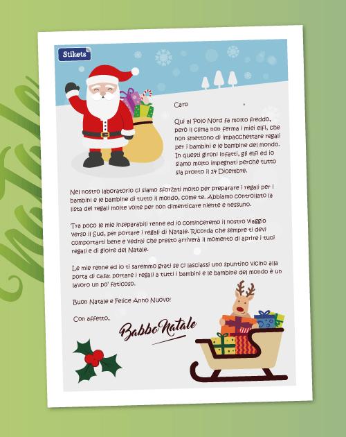 Da Babbo Natale per Bambino