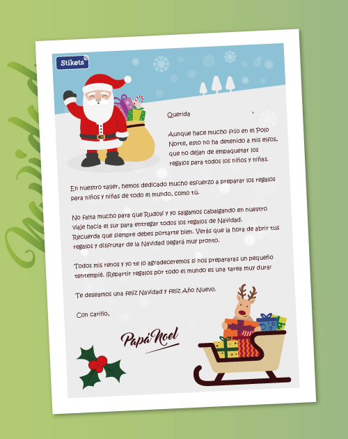 Carta de Papa Noel