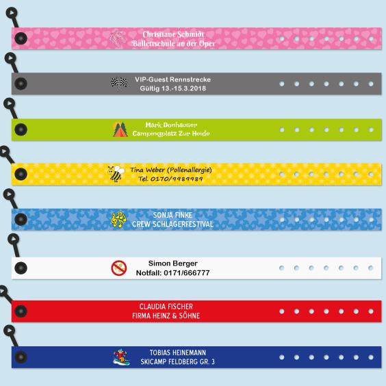ID-Armbänder für Erwachsene