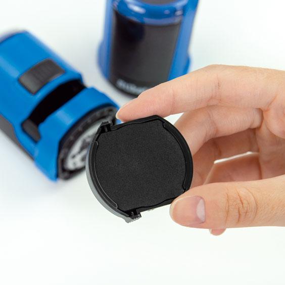 Cartridge For Stikets' Round Stamp