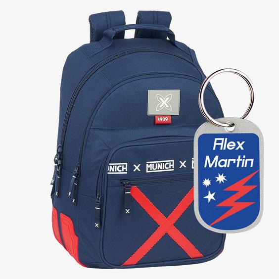 Safta Munich Spike Backpack