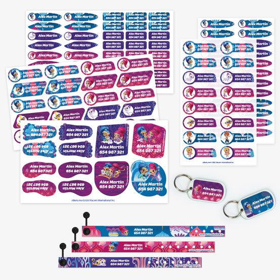 Shimmer and Shine ID Bracelet Pack