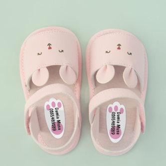 Animal footprint shoe labels