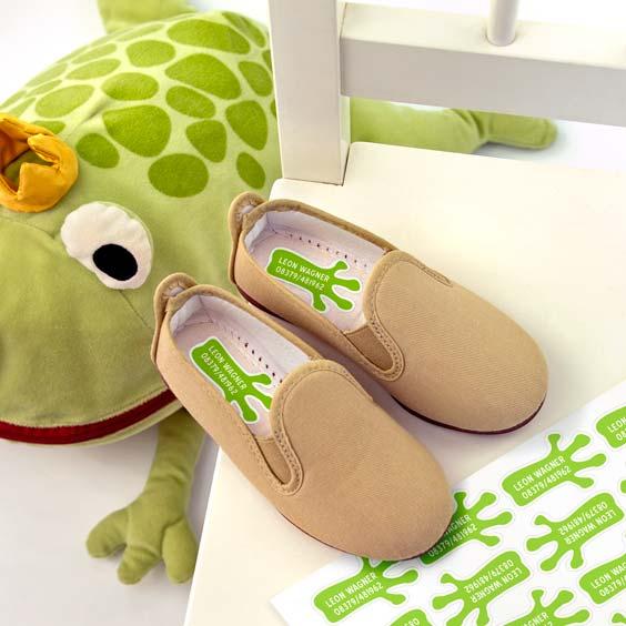 Schuhsticker Pfotenabdruck von Tieren