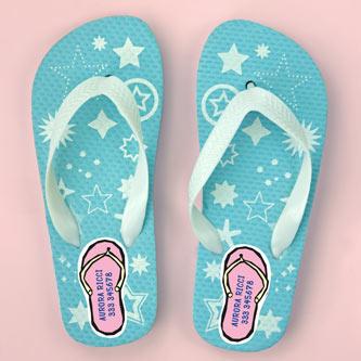 Etichette Flip-Flop per scarpe