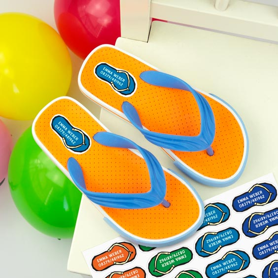 Schuhsticker Flip-Flop