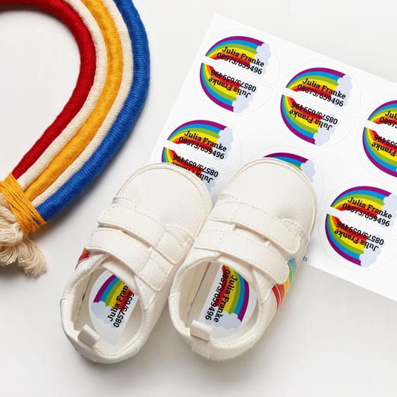 Schuhsticker rechts/links