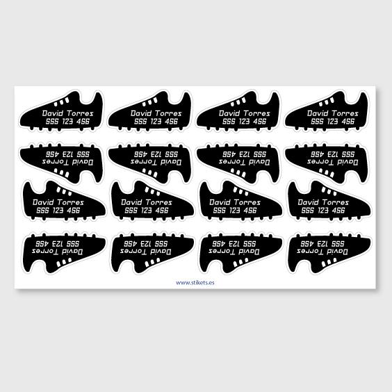 Etiquetes de sabates esportives