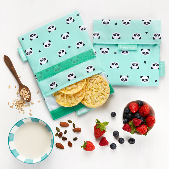 Panda Reusable Snack Bags