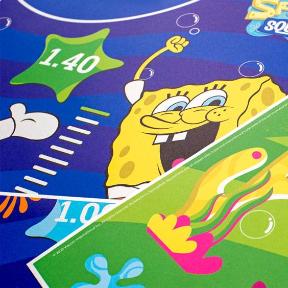 Personalized SpongeBob SquarePants Growth Chart