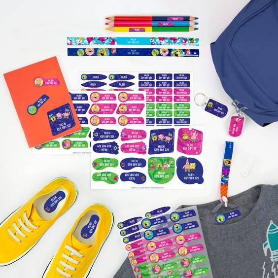 Aufhängebänder-Pack mit SpongeBob