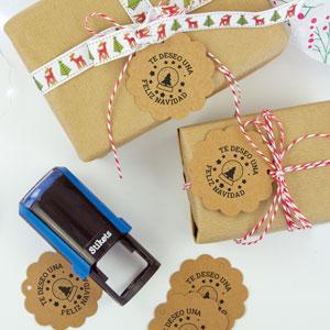 Segell rodó personalitzat per a regals i aniversaris