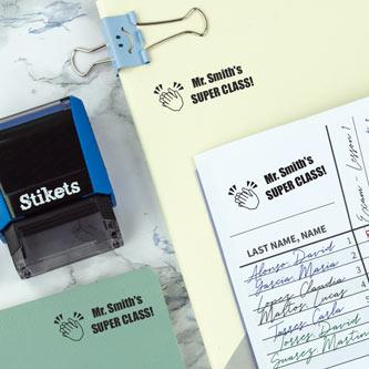 Rectangular Custom Stamp for Teachers