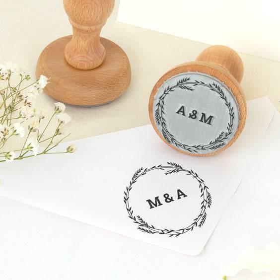 Segell rodó personalitzat per a casament