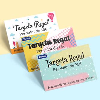 Targetes regal