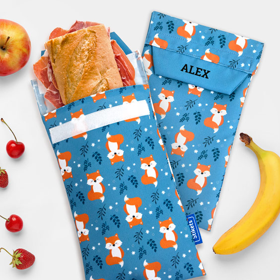 Reusable Personalized Sandwich Bags
