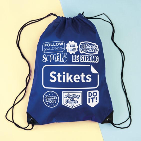 Stikets Icons String Bag