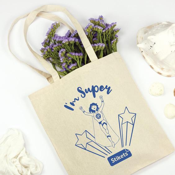 Tote Bag I'm Super