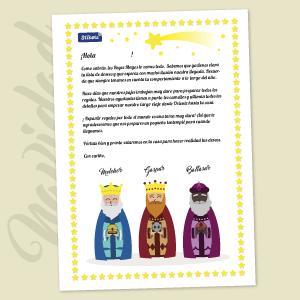 Carta de los Reyes Magos