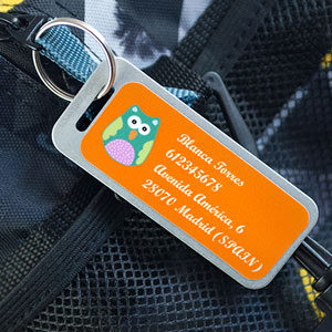 Big Luggage Tag