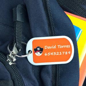 Xapes identificatives petites per a maletes