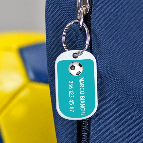 Etichette medie per bagagli