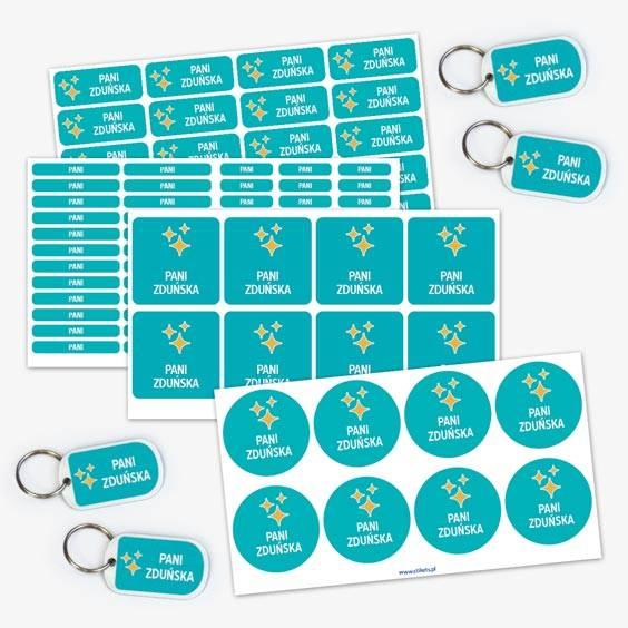 Label Pack for Teachers