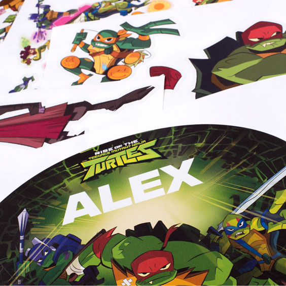 The Ninja Turtles Custom Wall Stickers
